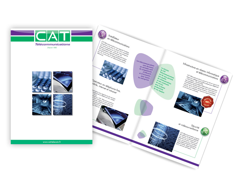 CAT Télécommunications - Brochures / Flyers